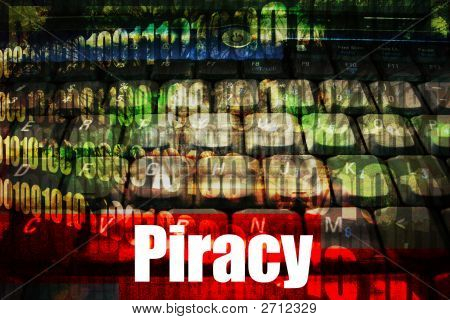 Piracy Hot Online Web Security Topic