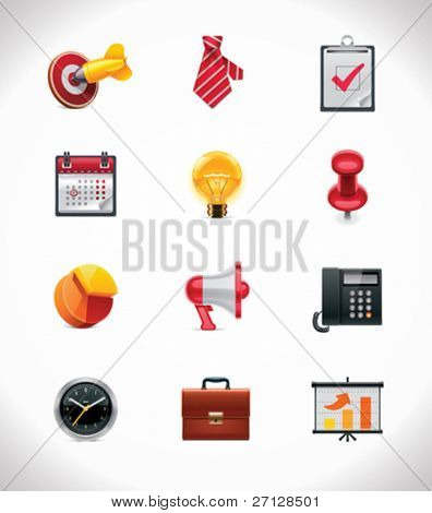 Vektor Business Icon set