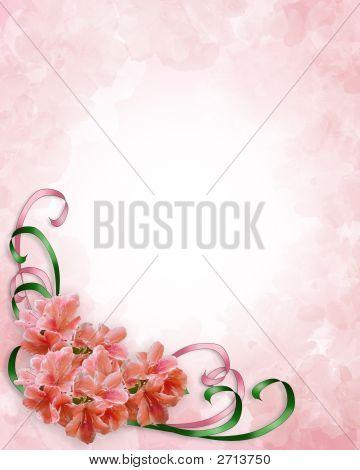 Floral Corner Design Azaleas