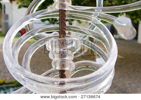 ein Stück Glaskunst