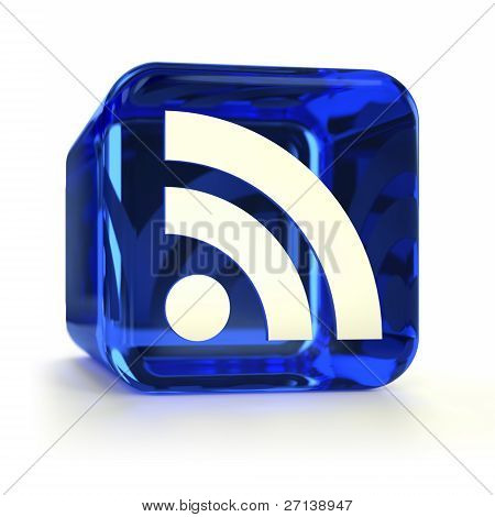 Blue RSS Icon