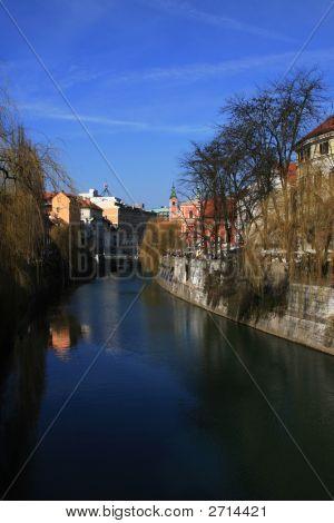 Ljubljana Slovenian A Sunny Day