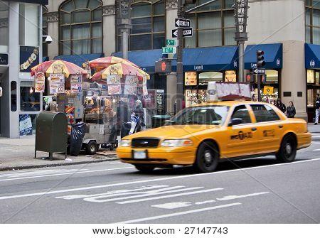 New York Stree Vendor