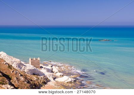 sicilian coastline