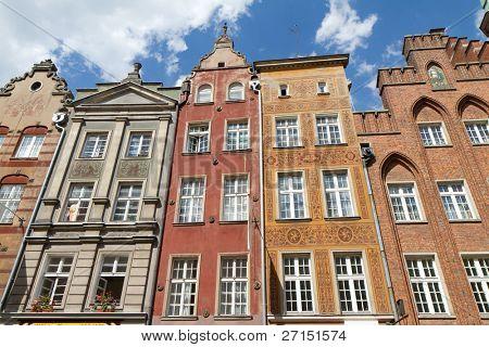 histórico de la ciudad de Gdansk, Polonia