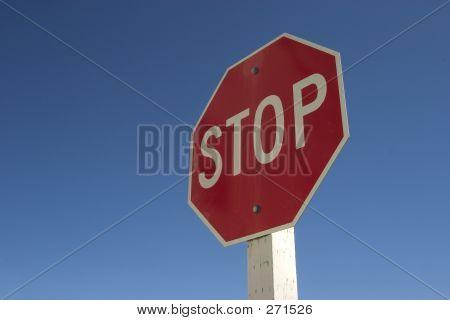 Sinal de stop #1