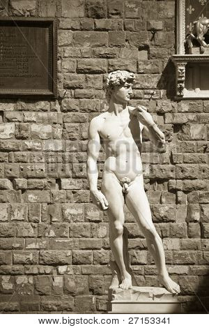 David's Statue, Florence, Italy