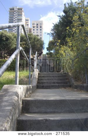 poster of Long City Stairway