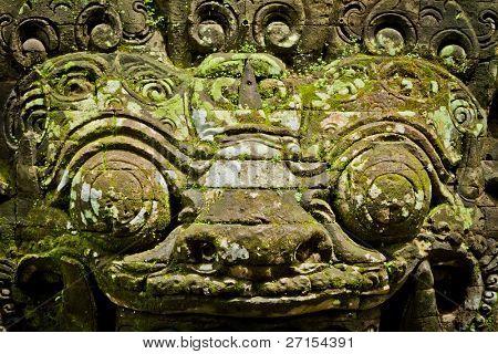statue of hindu deamon, Bali, Indonesia