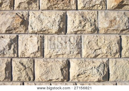 Stone wall texture useful for background