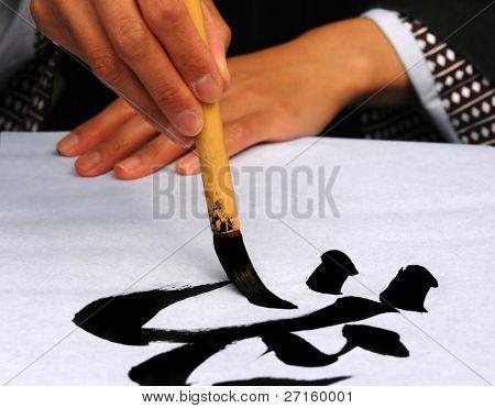 Drawing hieroglyph