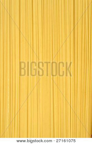 Uncooked italian spaghetti background