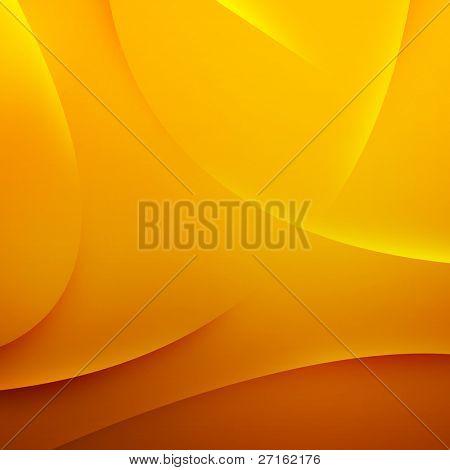 abstrakt gelb Wellen Hintergrund
