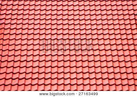 Orange roofing background