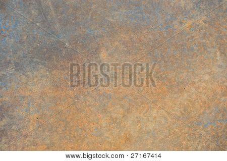 metal rusting texture