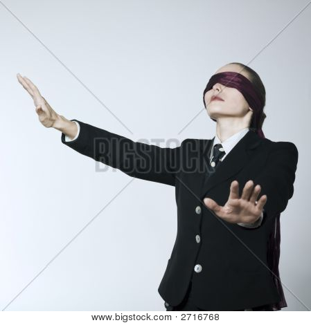 Blindfold Woman