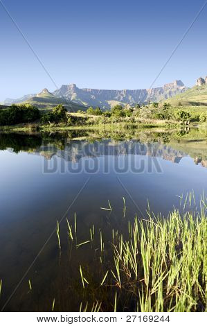Amphitheater found in the Northern Drakensberg, South Africa (see more drakesberg pictures in portfolio)