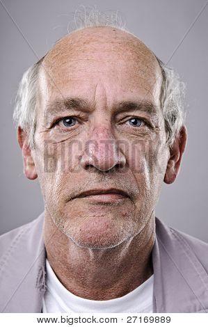 Old man, detailed portrait, lots of wrinkles