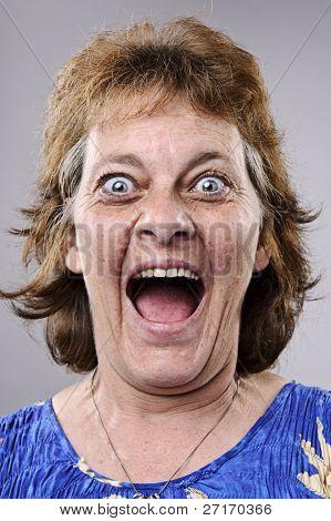 Ein wirklich lustiges Gesicht hoch detailliert erfasst (siehe Portfolio für mehr in dieser Serie)