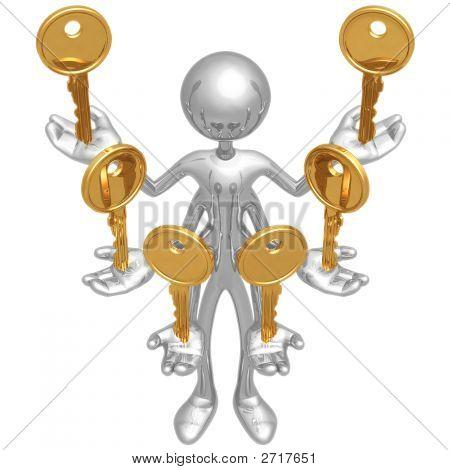 Handling Multiple Keys