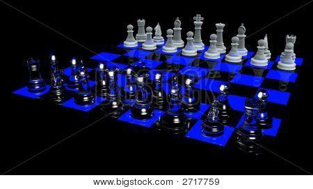 Blacklight Chess