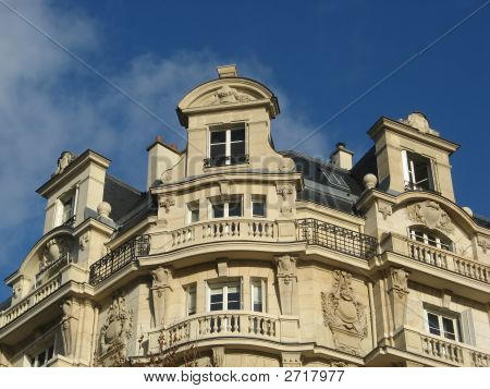 Ancient Parisian Building