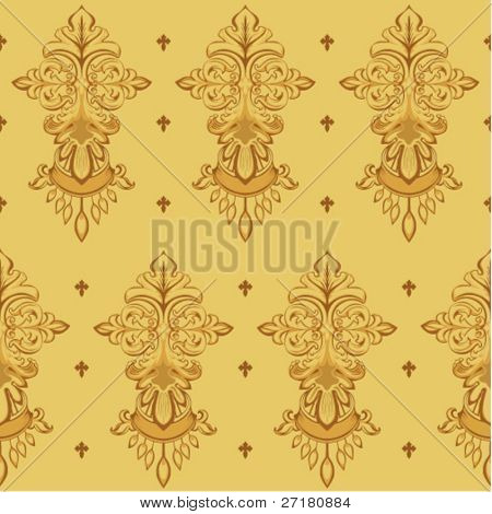 seamless texture baroque style