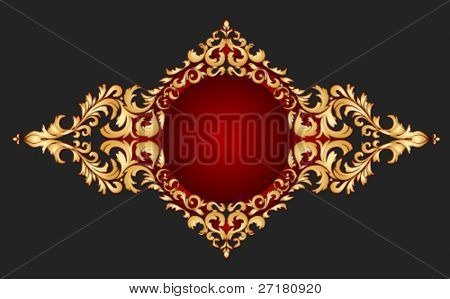golden frame classical style