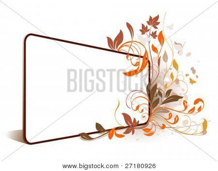 Blume Perspektive Rahmen