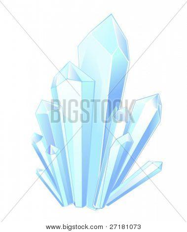 piedras de cristal hermoso fantástico para diseño