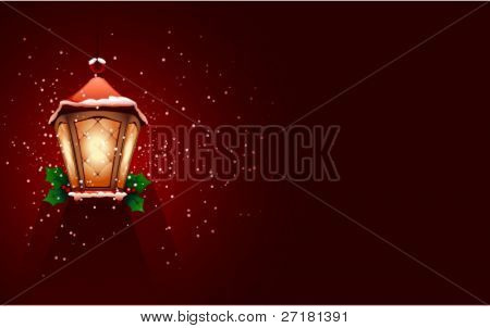 the Christmas background for design