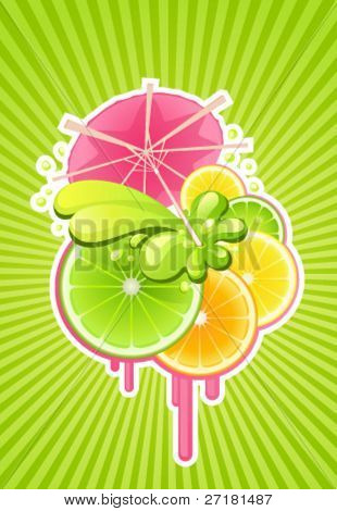 vector background for party design