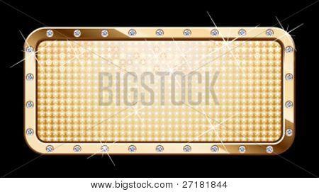 vector glamour frame for design