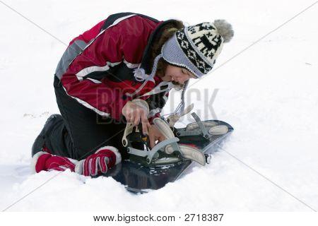 Repairing Of Ski-Binding