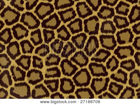 Abstract raster leopard texture background