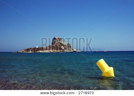 Island And Buoy