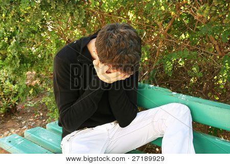 Crying Man