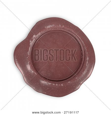 post stamp isolated on a white background