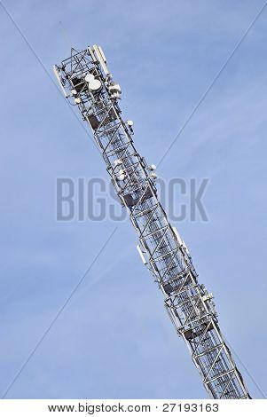 hohe Telekommunikation Antenne