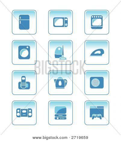 Home Electronics Icon-Set