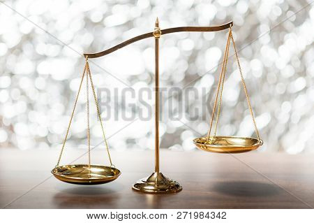 Gold Brass Balance Scaleweight Balance