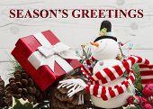 Old Fashion Christmas Greeting poster