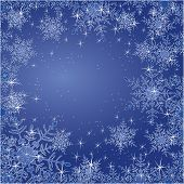 stock photo of glitter sparkle  - Sparkling  Winter Background  - JPG