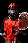 picture of lax  - Lacrosse Player - JPG