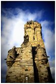 stock photo of william wallace  - This photo shows the National William Wallace Monument in Stirling - JPG