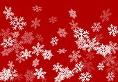 Snow Flakes Falling Macro Vector Design, Christmas Snowflakes Confetti Falling Scatter Banner. Winte poster
