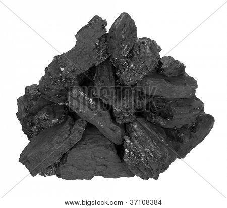 Pila de carbón