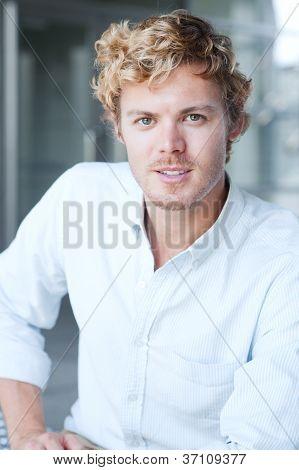 Portrait Of A Handsome Man