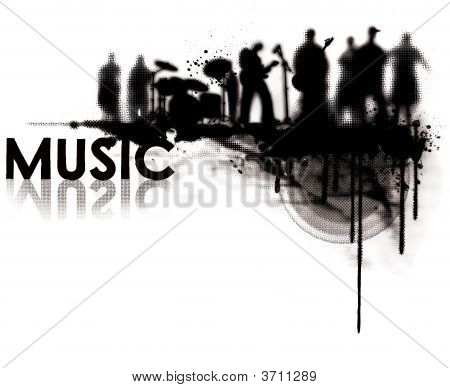 Sonido de la banda de música