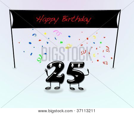 25Th Birthday Party.